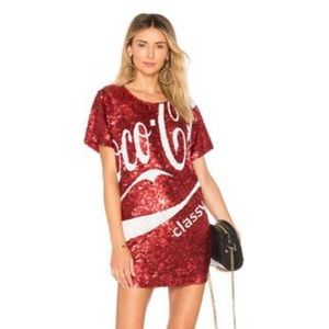 Mua Mua Dolls  Revolve NWT Coco Cola Glam Dress